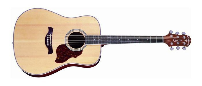 Crafter D6 N Acoustic Guitar Review