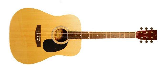 J Reynolds JR70N Acoustic Guitar Review